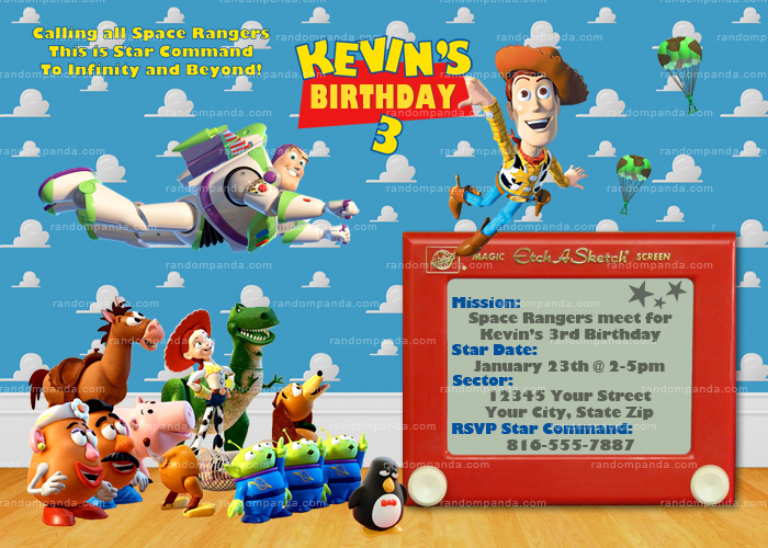 Toy Story Party Package, Buzz Lightyear, Woody, Jessie Birthday Bundle