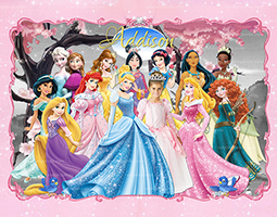 Personalize Kids Poster, BE a Disney Princess Poster, Princess Wall Art
