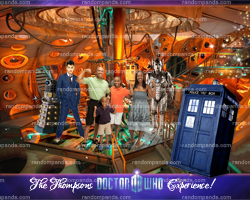 Doctor Who Experience, Funny Family Portrait, Photoshop Yourself