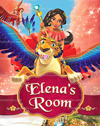 Personalize Kids Poster, Elena of Avalor Poster, Princess Elena Migs Party Wall Art
