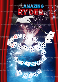 Personalize Kids Poster, Magician Party, Magic Show Poster