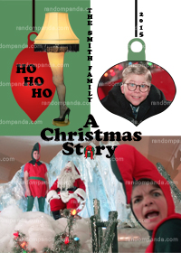 A Christmas Story Funny Holiday Christmas Card