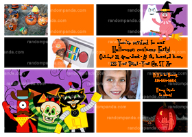 Yo Gabba Invitation, Yo Gabba Halloween Party Invite